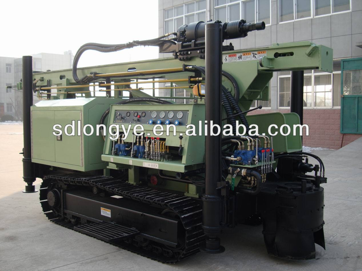 DTH and mud pump water well drilling equipment SLY550 for sale