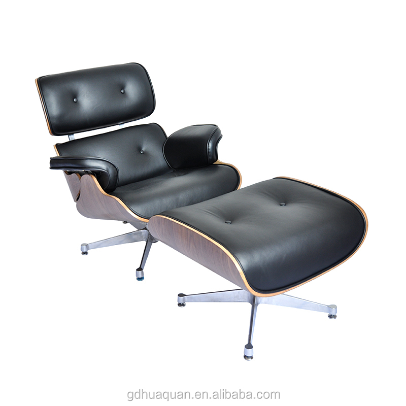 Classic Emes Charles Lounge Chair and Ottoman