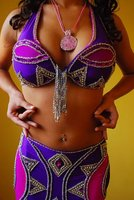 Belly Dancing Sexy Handmade Costume