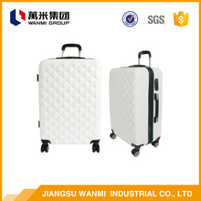 Online shopping ABS lugage bag travel trolley bags cases