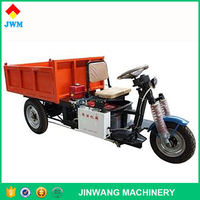 Moderate price high quality tricycle cargo hydraulic pump mini dump electric transport cargo