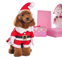 Christmas Cute Dogs Cat Dinosaur pretty Costumes Clothes