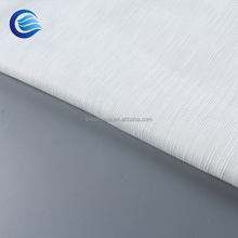 China supplier Insulated 100%polyester linen curtain sheer cheap transparent mesh tulle fabric