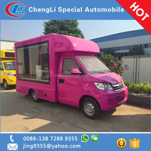 Lebanon hot sale Karry cheap mini mobile led truck P6/ P8 scrolling advertising trucks
