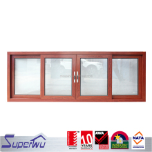 China suppliers wind proof glass aluminium materials sliding window