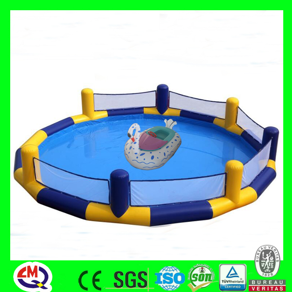 cheap kids aqua park water bumper boats games
