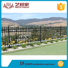 Cheap simple metal decorative used wrought iron fence panels for sale