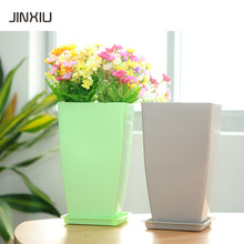 suqare window decorative flower pot artificial flowers vases