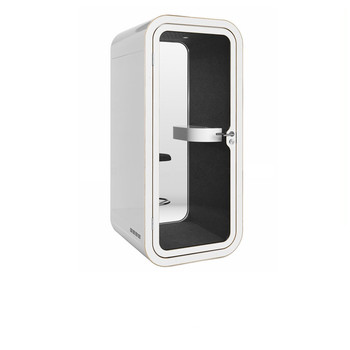 Soundproof Office Smooth Metal Phone Booth