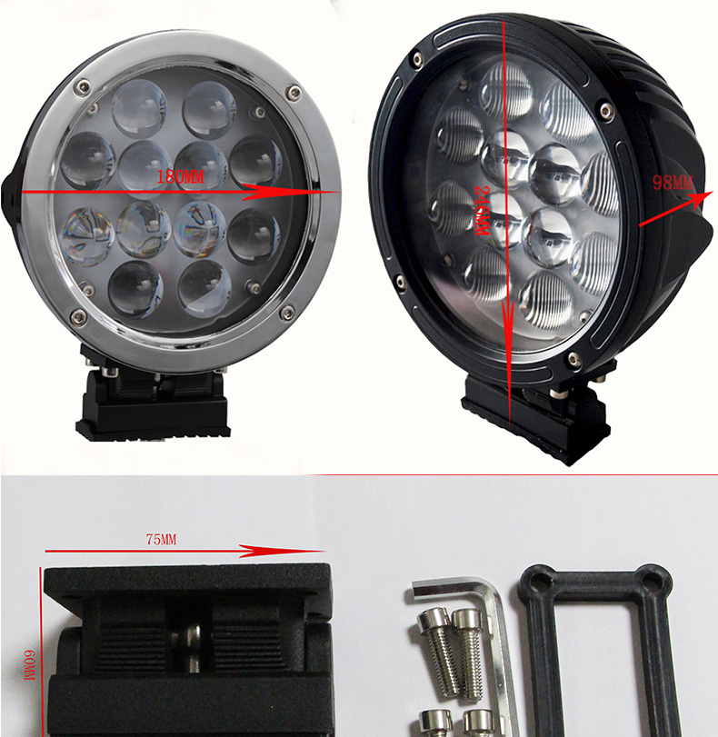 car accessories led offroad super powered work light bar