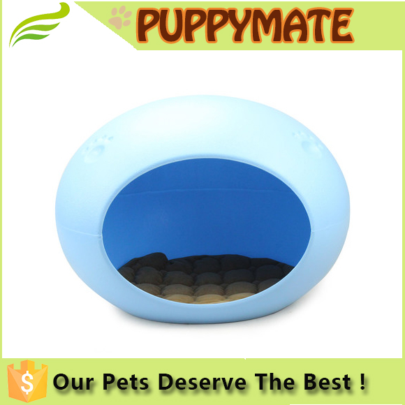 High quality new design resin egg shape pet dog bed