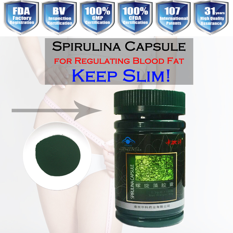 wholesale organic spirulina powder/capsules