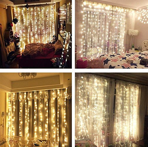 outdoors string light led curtain fairy lights