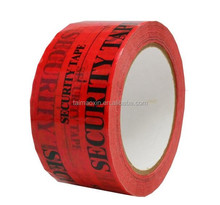 Whole Sale Red Serial Number Sealing Tape Tamper Void Tape Security Tape