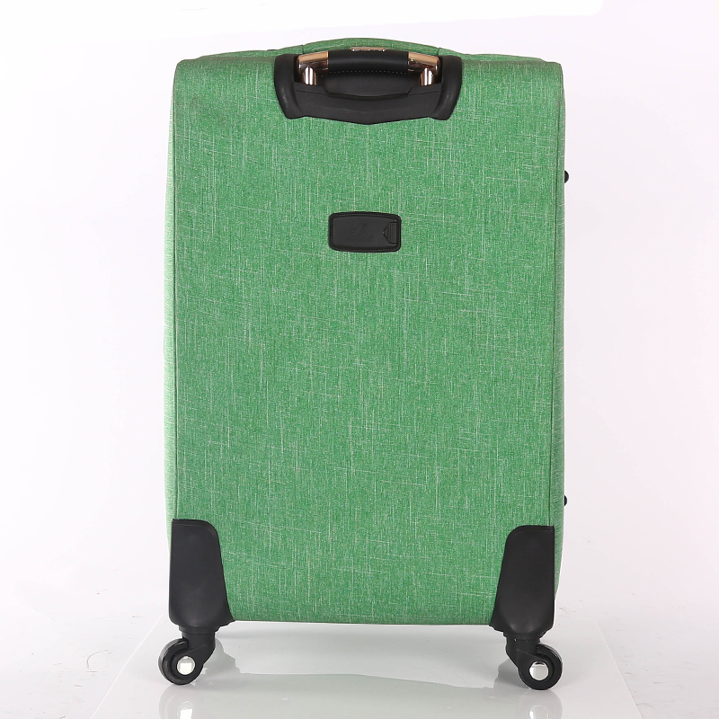2019 New Snowflake Fabric Best Trolley Luggage Suitcase Trolley Bag