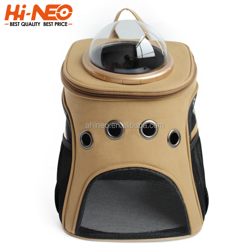 Wholesale Pet Carrier Dog Backpack Cat Carrying Bag