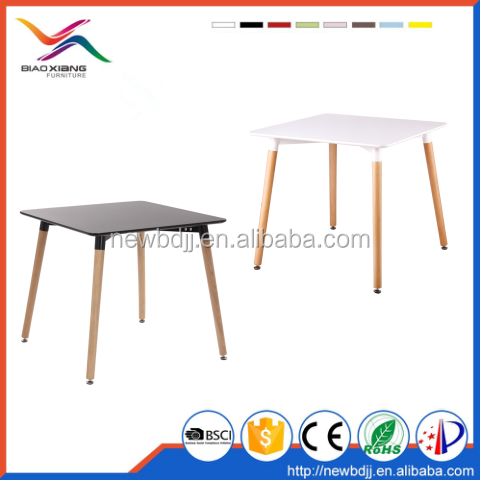 Modern Design Style Hot Selling Square MDF Dining <strong>Table</strong>