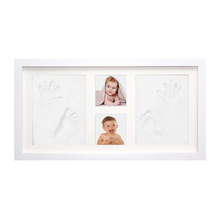 Best gift baby footprint air dry clay imprint kit