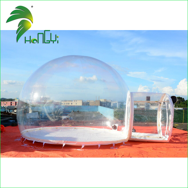 Camping Inflatable Clear Bubble Tent / Outdoor Multi-room House Tent / Inflatable Dome Tent for Event