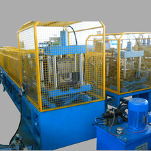 Rainwater seamless used gutter rolling making machine line for sale