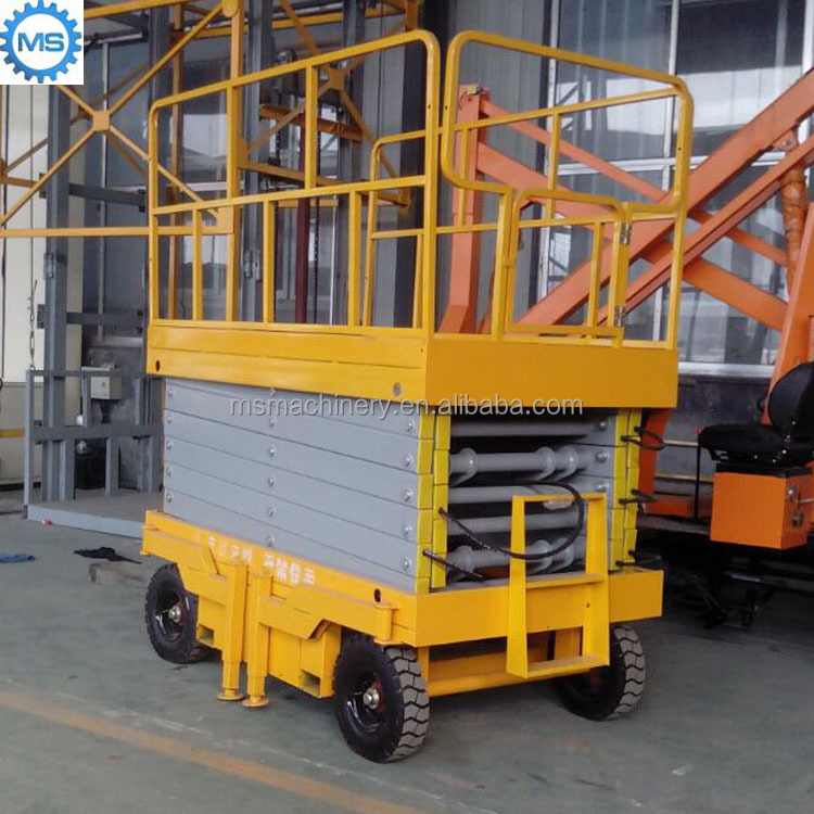 Crafted scissor lift trolley