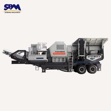 SBM Strong Adaptability Hydraulic-driven Mobile Construction waste Recycling Plant