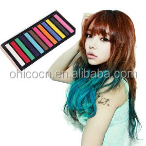 cheap inventory hair color dye chalk No ammonia set