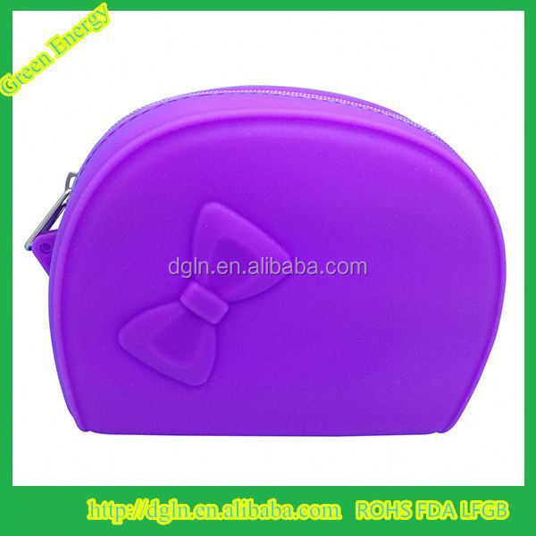 Popular in Europe market Silicone Coin Purses for women silicone Wallets