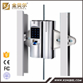 High quality security fingerprint glass door china digital lock