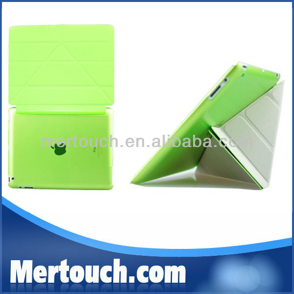 Flexible Transformer Sleep Wake Stand Case for iPad 2 3 4 New Smart Cover