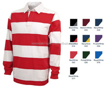2017 New custom sublimated long sleeve cheap rugby jerseys for men