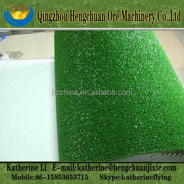 Gold Pan Plastic Grass Mat/Carpet in Roll