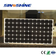 China Top supplier high efficiency monocrystalline solar panel 12V/24v 100w 180w 200w 250w cheap price for home
