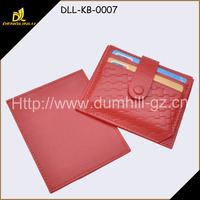 RFID Blocking Credit Card Holder Leather ID Card Holder