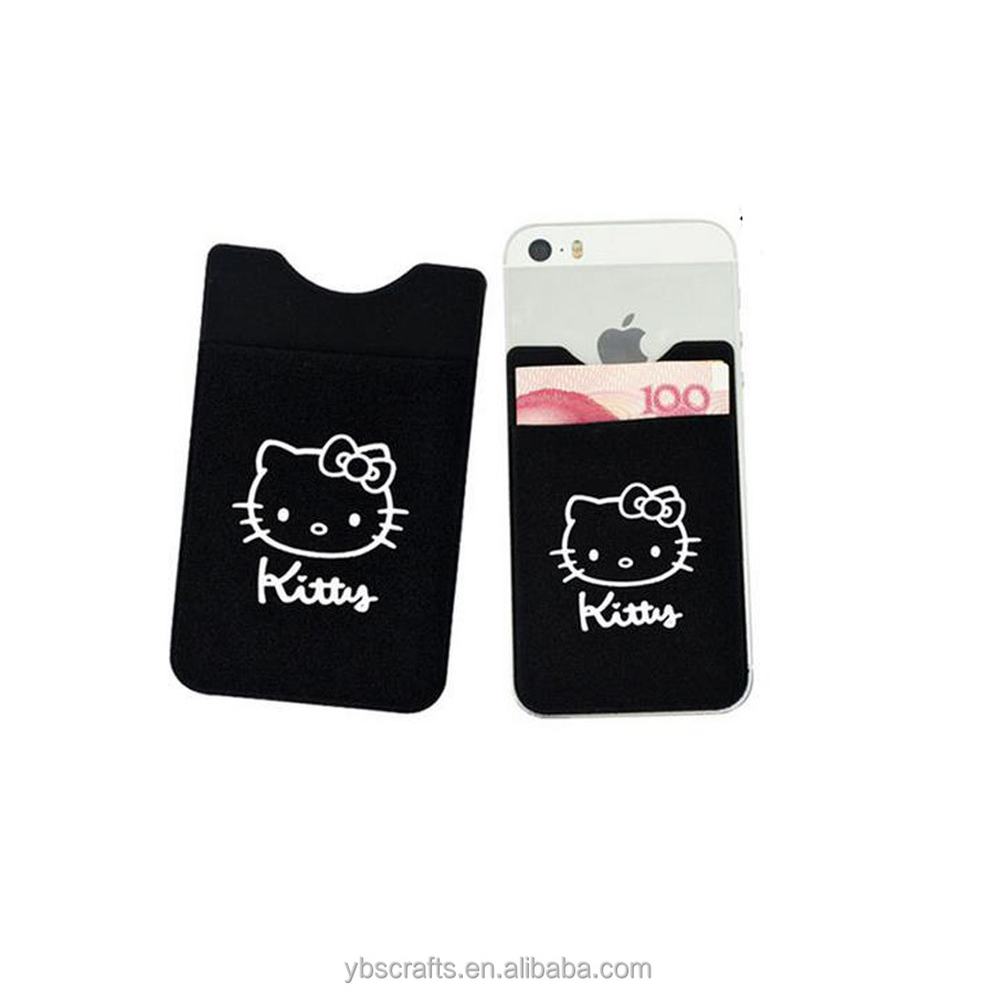 As Wallet and Card Case Customised Cartoon Pattern Printing Phone Pocket