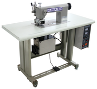 Ultrasonic lace sealing and forming machine