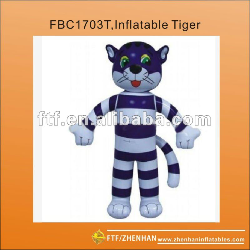 PVC Tiger inflatable cartoon