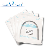 Sinitic Dental orthodontic crooked teeth care arch wires natural niti arch wire