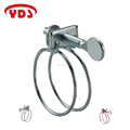 High Quality Stainless Steel Double Wire Heavy Duty Hose Clamp