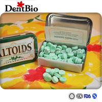 Mints mini candy mini pastillets tablet manufacturer sugar free xylitol hard candy