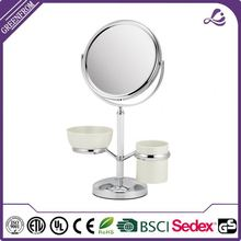 Factory Price magnifying telescopic mirror with lights