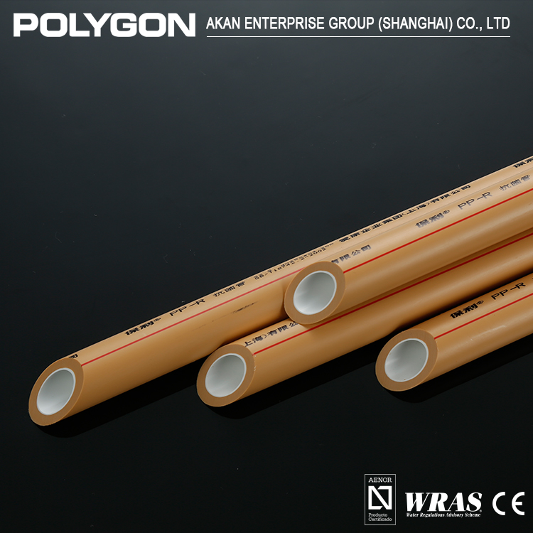 New Fashion Wholesale Polygon Antibacterial Insulation Ppr Pipe