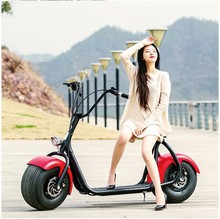 2017 new product fat tire electric scooter 60V 1000W Citycoco electric scooter electric drift car