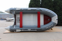 "Made In China ASD-320CM/10'6"" Inflatable Boat With Aluminum Floor"