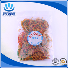 Globe rubber bands for African market
