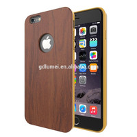 Fashion Slim Elegant Bamboo Wooden Cell Phone Case for iPhone 6, Wooden Wood Cover for iPhone 6