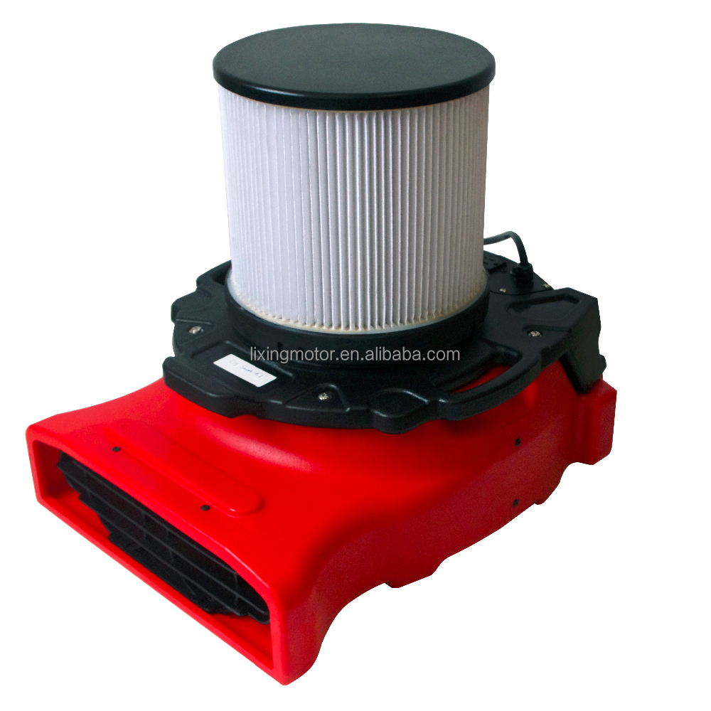 Low Profile Blower : Low profile air blower flood restoration water damage