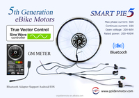 24V 250W 36V 500W 48V 1000W Golden Motor Magic Pie 5 ebike conversion kit / electric bicycle kit / electr bike hub motor