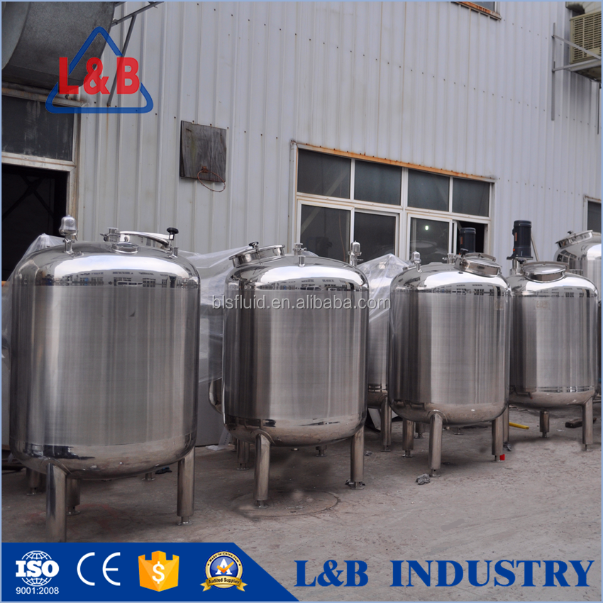 CE Confirm Stainless Steel Coconut Oil Storage Tank
