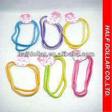 Colored Rubber Band Rings/Elastic Hair Tie/Head Tie